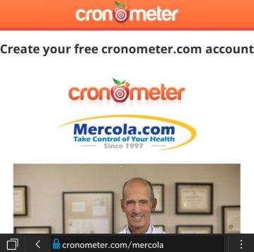 free food tracker at cronometer.com/mercola