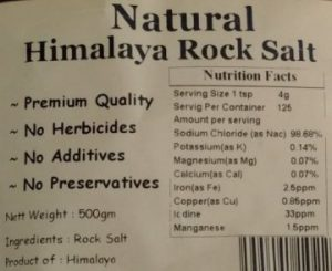 natural Himalayan rock salt on thrivelowcarb.com