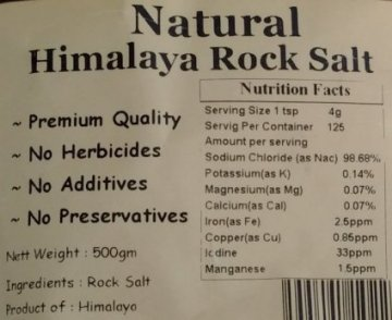 natural Himalayan rock salt on thrivelowcarb.com