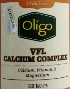 Melaleuca VFL calcium magnesium complex with vitamin D on thrivelowcarb.com