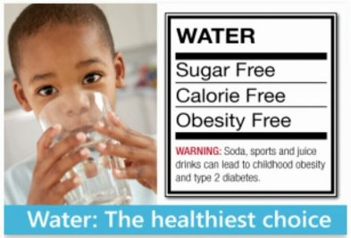 water is the healthiest drink graphic on thrivelowcarb.com
