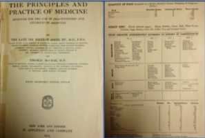 1920 medical textbook by Osler and McCrae on thrivelowcarb.com