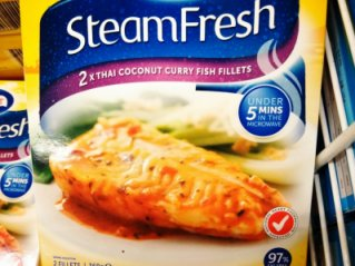 frozen steam fish packet on thrivelowcarb.com