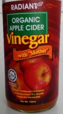 Radiant organic apple cider vinegar on thrivelowcarb.com