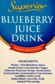 blueberry juice drink at thrivelowcarb.com